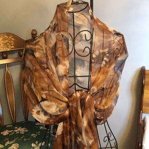 ANNE KLEIN silk scarf